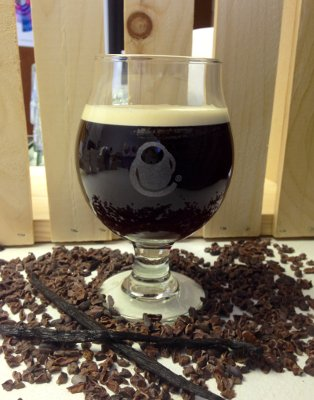 Cocoa Nib Nitro cold brew coffee Crimson Cup Coffee House Columbus Ohio
