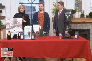 Brandon Bir talks Crimson Cup cold brew coffee on Good Day Columbus