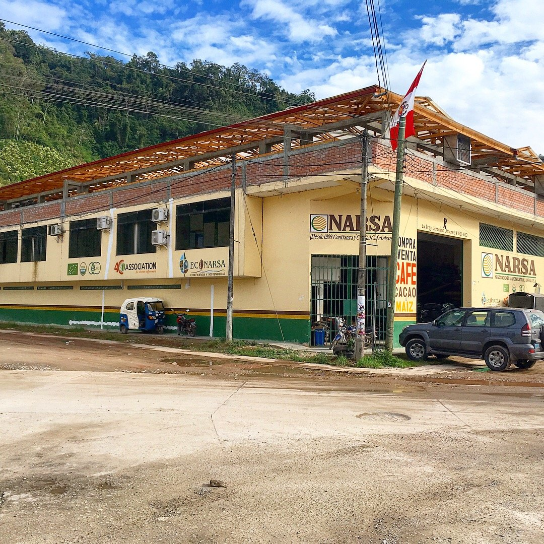 The Coffee Innovation College at NARSA in La Merced Peru