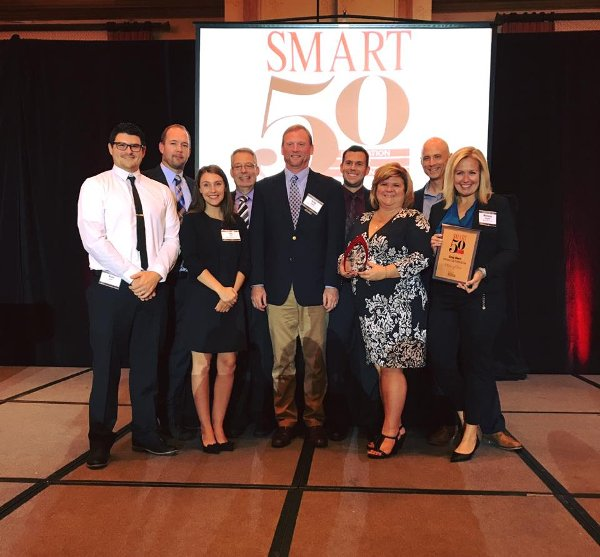Greg Ubert of Crimson Cup Coffee & Tea wins Smart 50 Award