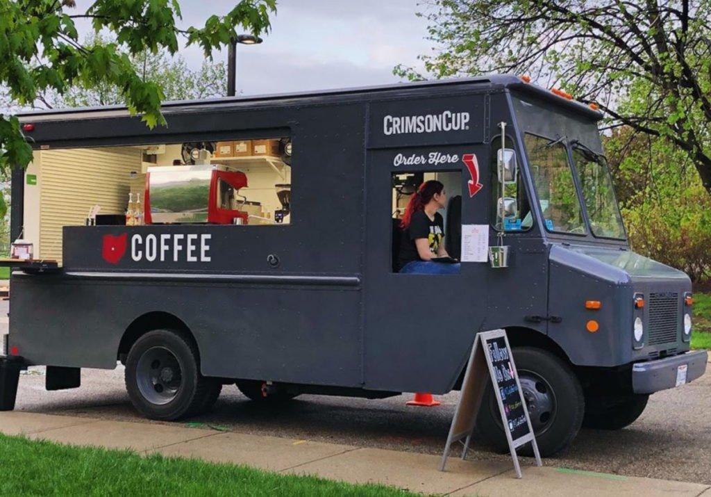 Crimson Cup Coffee Truck Columbus Ohio
