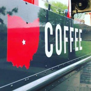 Crimson Cup coffee food truck Columbus Ohio