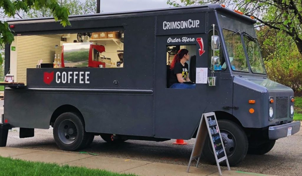 Picture of Crimson Cup coffee food truck