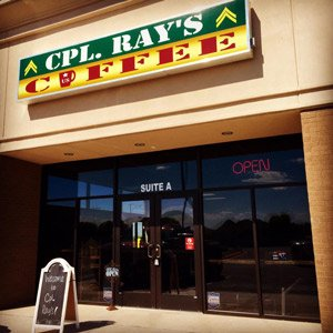 Cpl. Ray's Coffee Odessa Texas