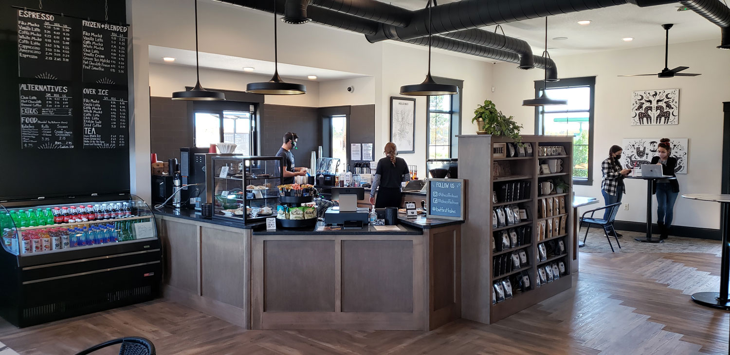 Kahvi Coffe House + Cafe in Eau Claire Wisconsin