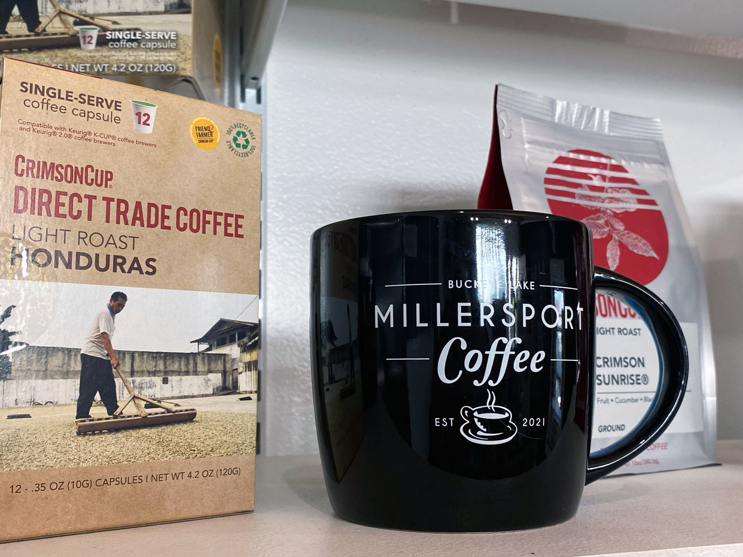 Couple Opens Second Independent Coffee Shop in Millersport, Ohio