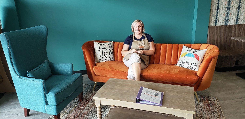 Orange Couch Coffee House in Eureka, Missouri