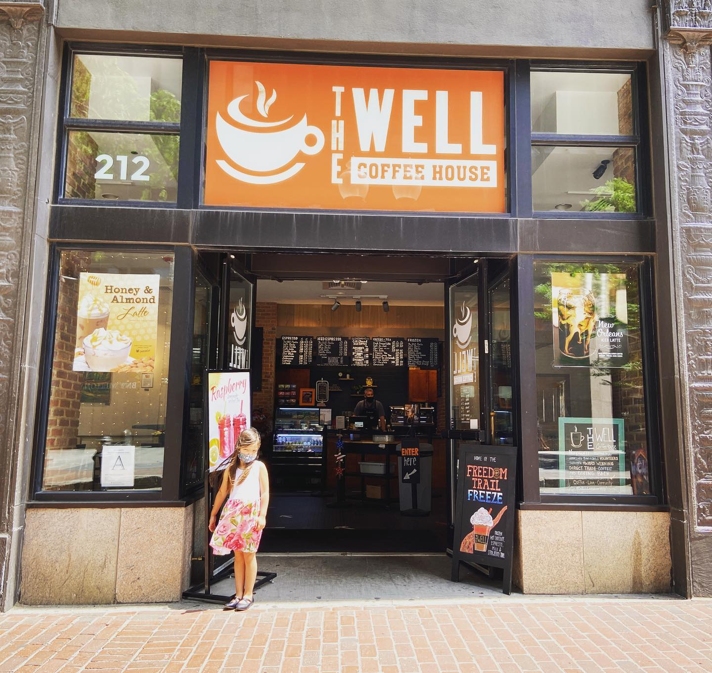 The Well Coffee House South Street Boston