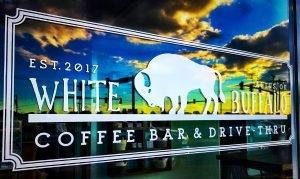 White Buffalo Coffee Bar Altus Oklahoma