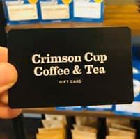 Crimson Cup Gift Card