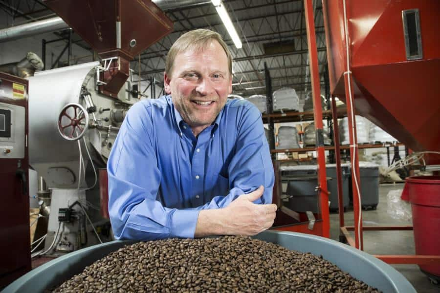 Coffee business consultant Greg Ubert, founder and president, Crimson Cup Coffee & Tea