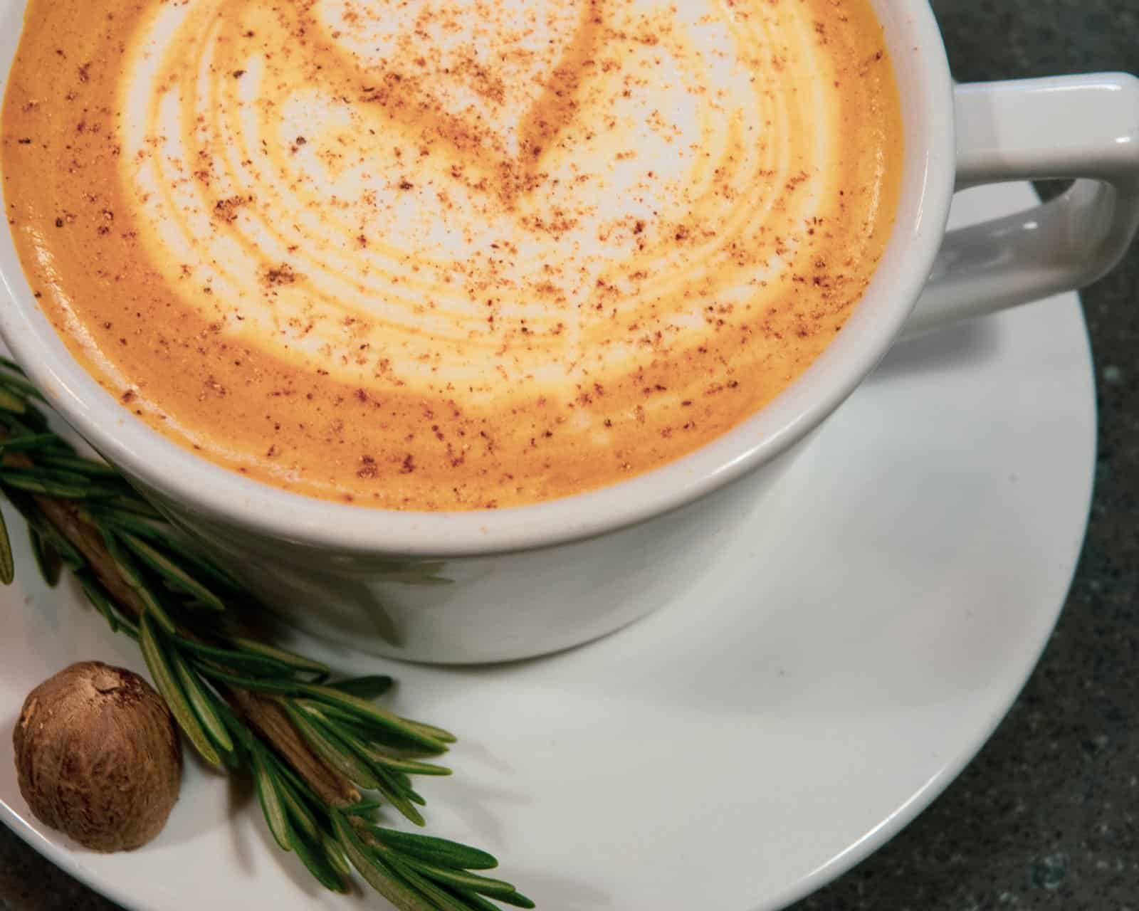 Crimson Cup Rosemary Spice Latte